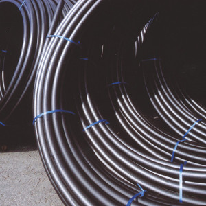 MDPE/HDPE Black Non Potable Pipe