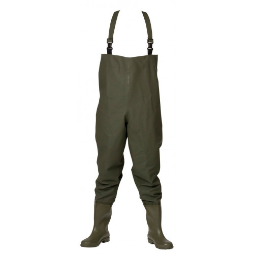 ELKA Waders Short Boots PVC/Polyester 600g Olive Green