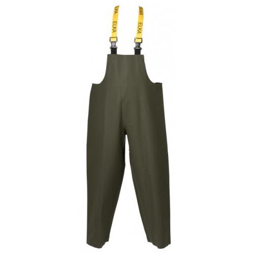 ELKA Bib & Brace PVC/Polyester 600g Olive Green