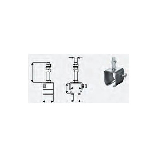 2331-4-A Horizontal Support inc. Nuts & Bolts