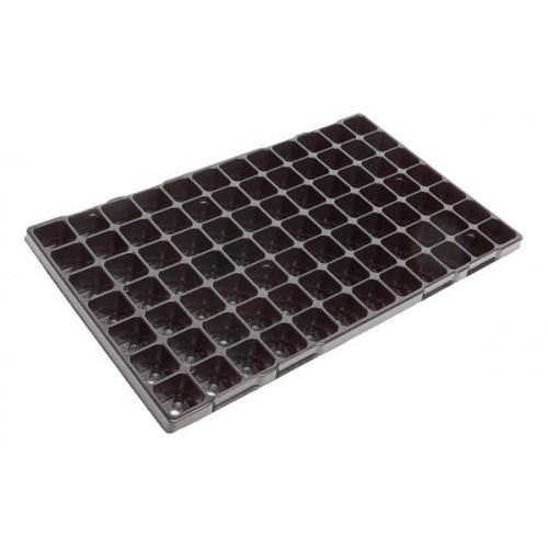 Modiform Plug Tray 84 Cells (Black) Paperpot (1680/Pallet) - Each
