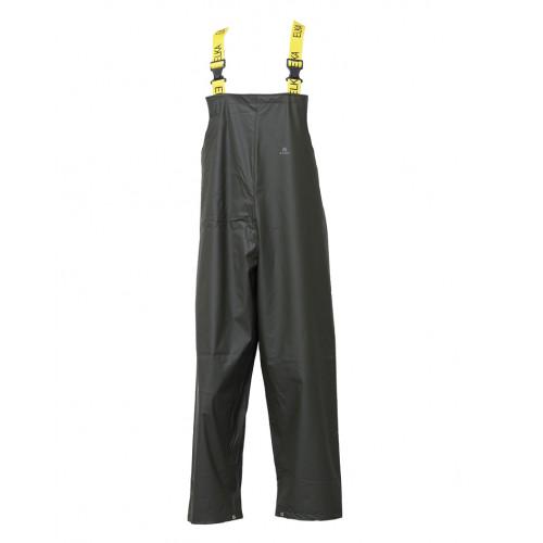 ELKA Dry Zone Bib & Brace PU/Polyester 190g Olive Green