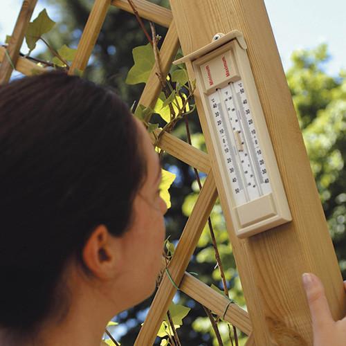 Press Button Max Min Thermometer