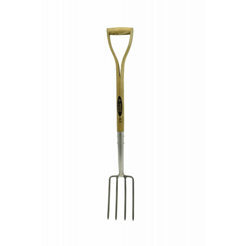Spear & Jackson 4552BF Border Fork+Wooden Handle