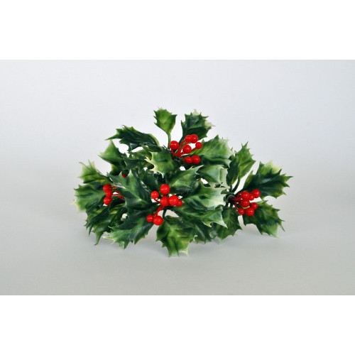 Christmas Plastic Large Holly Pick (7124) (36/Pack)