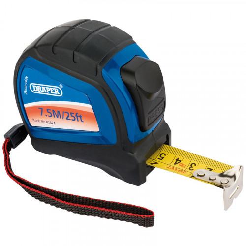 Draper Professional Measuring Tape 7.5m/25ft