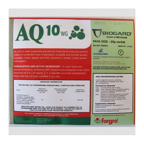AQ10WG Biofungicide (MAPP 17102) [30g]