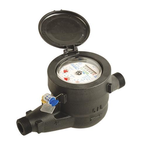 "Plastic Cold Water Water Meter 1/2"""