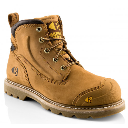 B650SM Safety Lace Boot [Honey Nubuck] Sizes 6-13