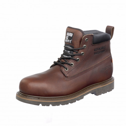B750SMWP Safety Lace Boot K2 [Dark Brown] Sizes 4-13
