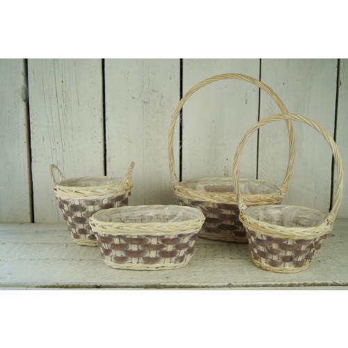 Brown Woodchip Basket Range