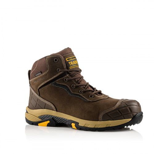 Blitz Safety Lace Boot [Brown] Sizes 6-13