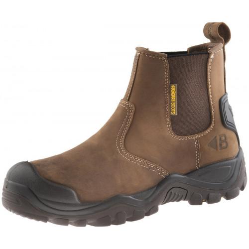 BSH006 S3 HRO SRC Buckshot Safety Dealer Boot [Crazy Horse] Sizes 6-13