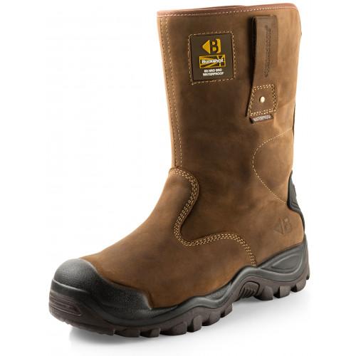 BSH010 S3 HRO WRU SRC Safety Buckshot Waterproof [Crazy Horse] Sizes 6-13