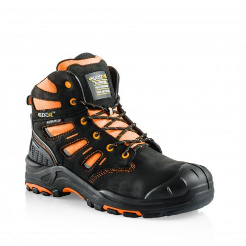VIZ2 OR Anti-Scuff Safety Lace Boot [Safety Orange]