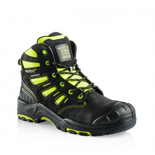 VIZ2 YL Anti-Scuff Safety Lace Boot [Safety Yellow]