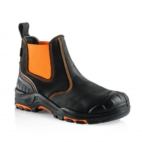 VIZ3 OR Anti-Scuff Safety Dealer Boot [Safety Orange]