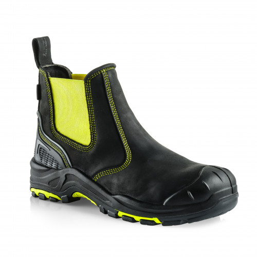 VIZ3 YL Anti-Scuff Safety Dealer Boot [Safety Yellow]