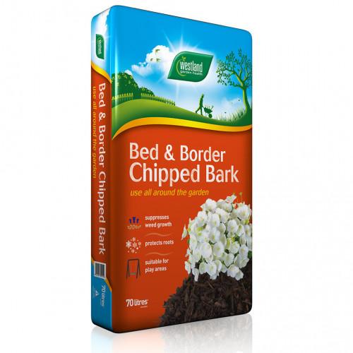 Westland Bed & Border Chipped Bark [70L] (48/Pallet) - Each
