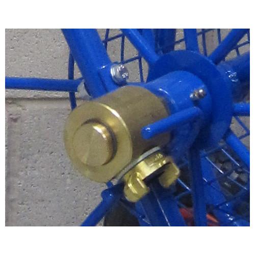 Brass Swivel For Prof. Hose Trolley