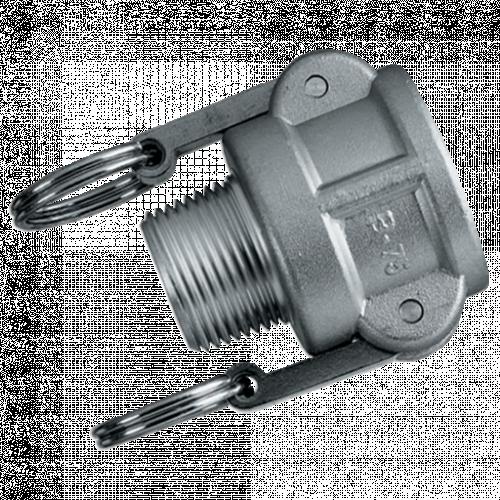 Camlock Threaded Lever Coupling Aluminium