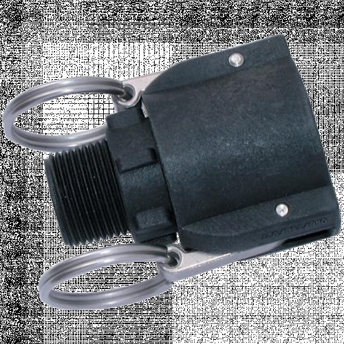 Camlock Threaded Lever Coupling Polypropylene