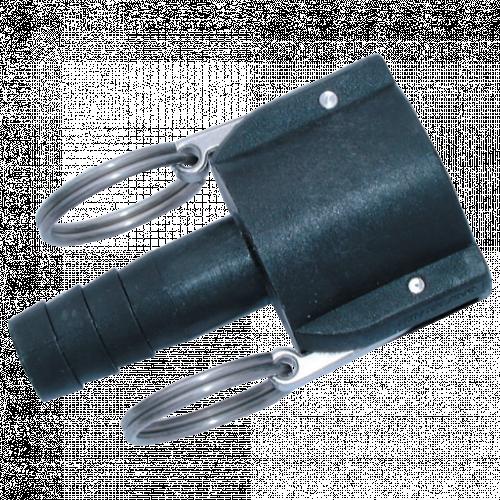 Camlock Hose Tail Lever Coupling Polypropylene