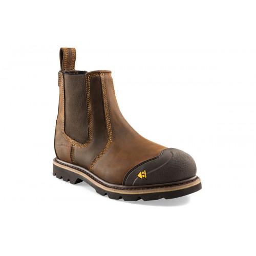 B1990SM Buckflex Safety Dealer K3 [Crazy Horse Leather]