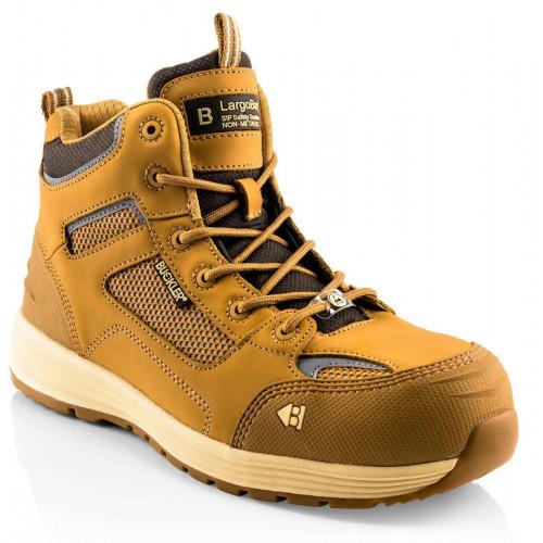 Baz S1P HRO SRC Lace Boot [Honey Nubuck] Sizes 6-13