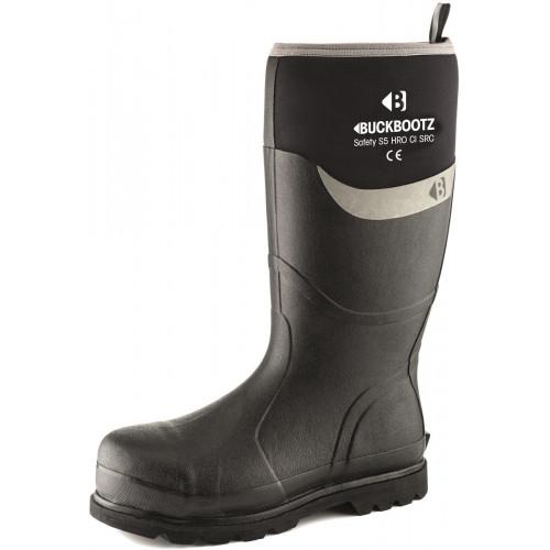 BBZ6000 S5 Neoprene WP Safety [Black] Sizes 5-13