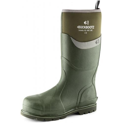 BBZ6000 S5 Neoprene WP Safety [Olive/Green] Sizes 5-13