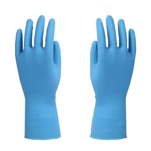 Lightweight Rubber Gloves Sz 8 [Medium]