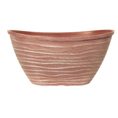 """Dune Planter Oval with Rim 20"""""""