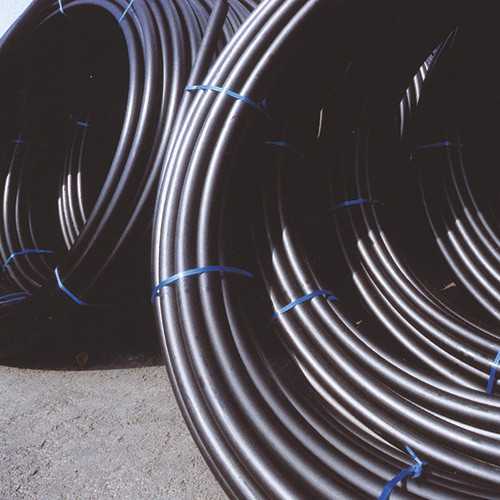 PE100 HDPE Pipe Coils [SDR17, PN10] BLACK