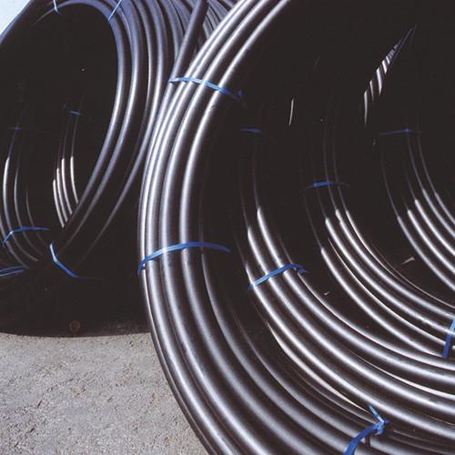 PE100 HDPE Pipe Coils [SDR17, PN10] BLACK
