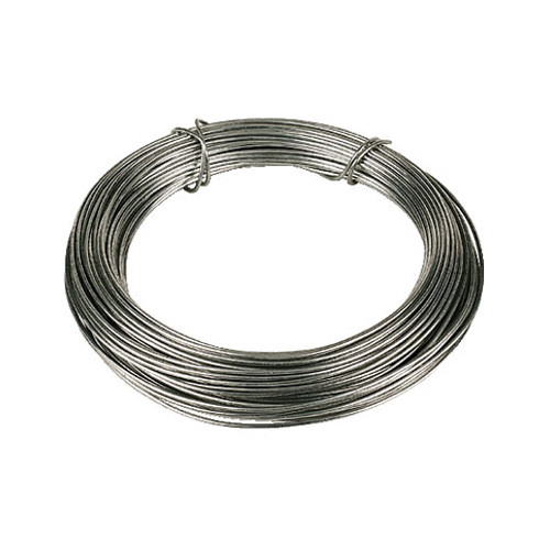 Galv.Wire 12g - 2.5-2.8mm [25kg Coil]
