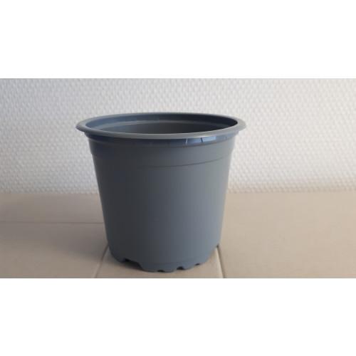 Teku Light Pots 5° Circular Grey 100% Recyclable & 100% Recycled