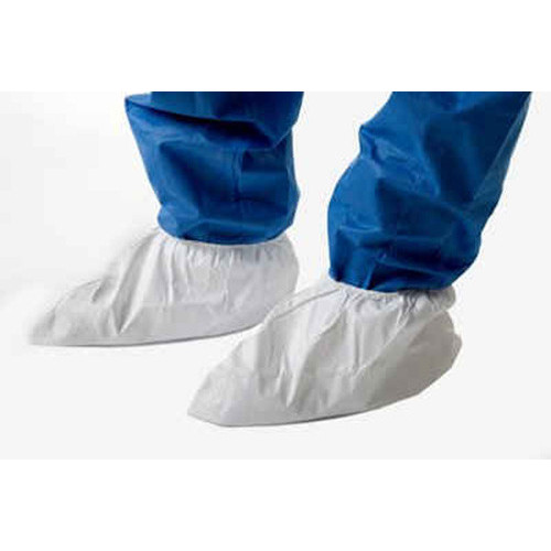 Disposable PE Overshoes - White [Box of 100]