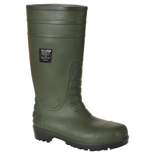 Portwest FW95 Steelite Classic Safety Wellington S4 [Green]