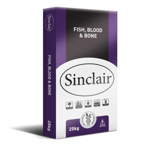 Sinclair Fish Blood and Bone [25kg Bag] (50/Pallet) - Each