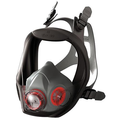 JSP Force 10 Typhoon Full Face Half Mask Respirator (Medium)