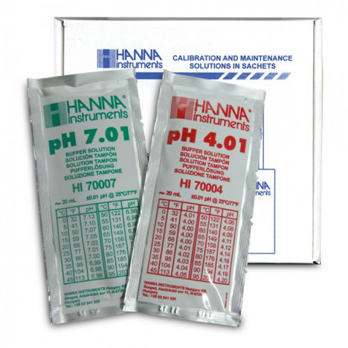 Calibration Kit pH (5 pH4.01 & 5 pH7.01 sachets)