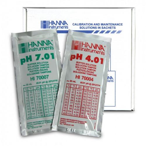 Calibration Kit pH (5 pH4.01 & 5 pH7.01 sachets)