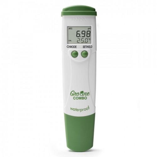 Groline Combo pH/TDS/EC Meter (W/P) 0 to 6.00 mS/cm
