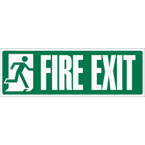 Fire Exit 120 x 360 Rigid