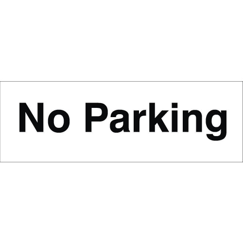 No Parking 120 x 360 Rigid