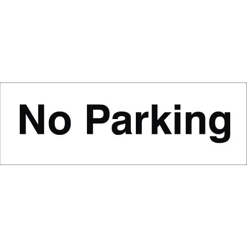 No Parking 120 x 360 Rigid