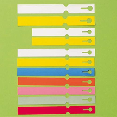 Med Loop Lock Label Plastic 160 x 16mm LL5 White