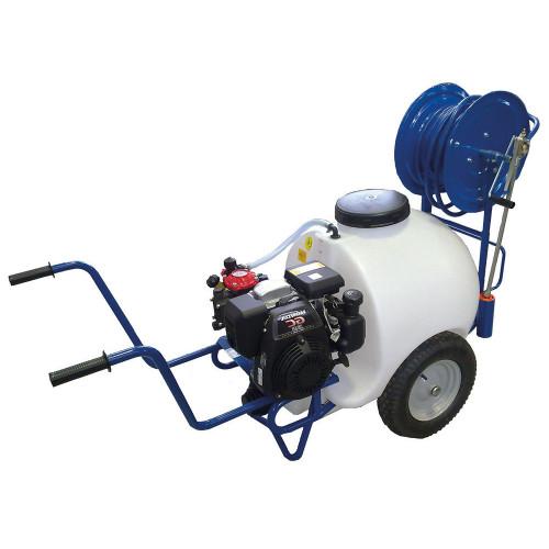 Barrow Sprayer 120L AR252 Petrol Pump Honda GP160 + Hose Reel
