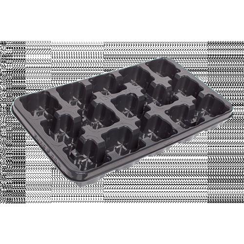 Modiform EURODAN 15x10.5/11cm Transport Tray (Raised Drainage) (2100/Pallet) - Each